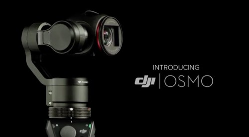 New DJI Osmo Camera Stabilization Platform