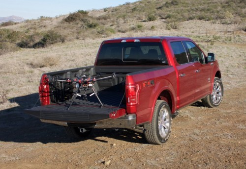 Ford Challenge: Drone-to-Vehicle Technology