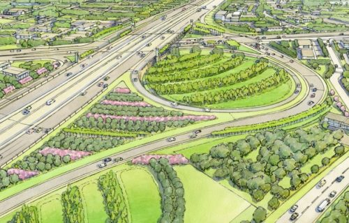 I-4 Ultimate landscaping adds color to the corridor