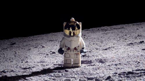 Out of this world: Orlando man recreates moon landing with Lego bricks